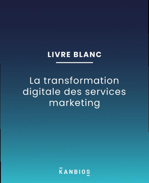 La transformation digitale des services marketing
